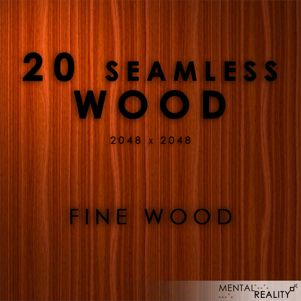 20 High Resolution Wood Textures - Fine Wood