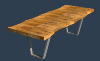 Erinn V. Maison Live Edge Dining Table