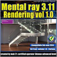 Mental ray 3.11 3dsmax 2014 Vol.1 Rendering cd front