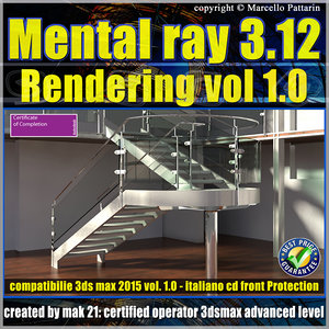 Mental Ray 3.12 In 3ds max 2015 Vol.1 Rendering Cd front