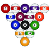 Vector Stock: Billiards / Pool Balls