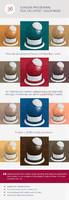 Scanline Procedural Tiles 1x3 Offset  Color Noise