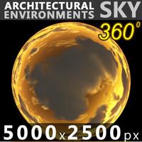 Sky 360 Sunset 026 5000x2500