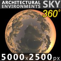 Sky 360 Sunset 033 5000x2500