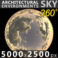 Sky 360 Sunset 035 5000x2500