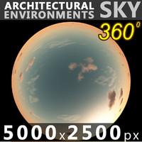 Sky 360 Sunset 046 5000x2500