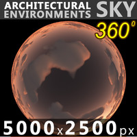 Sky 360 Sunset 058 5000x2500