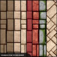 8 seamless stone textures