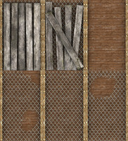 Fenced Wall Texture Set