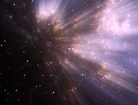 Space nebula C107