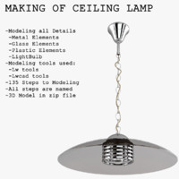 Making of Ceiling Lamp