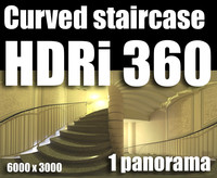Hdr Curved staircase
