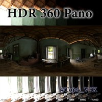 HDR 360 Pano country kitchen interior