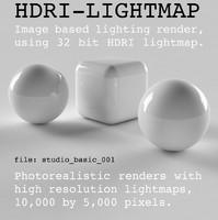 HDRI studio basic 001