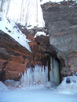 Sea Caves in the Winter
