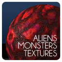 9 Alien Monster Textures seamless