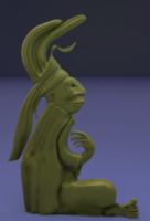 3d ancient glyph