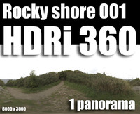 Hdr Rocky shore 001