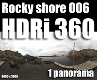 Hdr Rocky shore 006