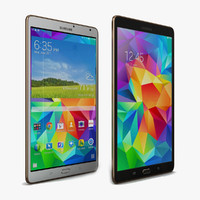 Samsung Galaxy Tab S 8.4 & LTE All Color