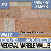 Medieval Marble Wall B