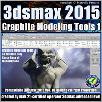 3ds max 2015 Graphite Modeling Tools1_cd front