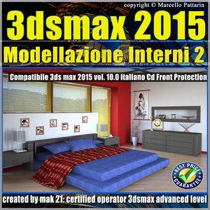 3ds max 2015 Modellazione Interni 2_v.10_cd front