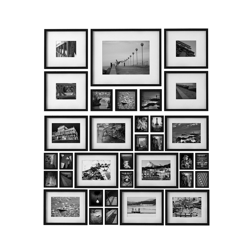3dsmax photo wall collage