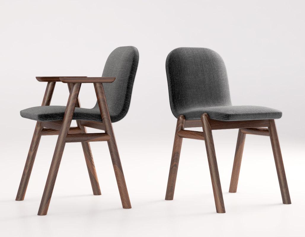jardan bay armchair 3d max