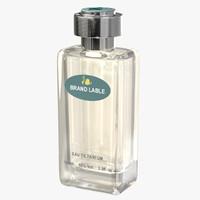 visualizing modern luxury perfume bottle 3d model