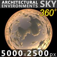 Sky 360 Sunset 020 5000x2500
