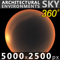 Sky 360 Sunset 022 5000x2500