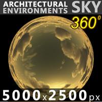 Sky 360 Sunset 028 5000x2500