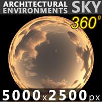Sky 360 Sunset 037 5000x2500