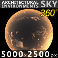 Sky 360 Sunset 040 5000x2500