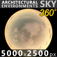Sky 360 Sunset 048 5000x2500