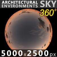 Sky 360 Sunset 060 5000x2500