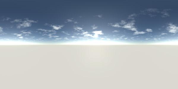 HDRI Panorama - Daylight Partly Cloudy