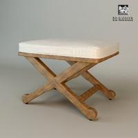 3d model of stool elkann eichholtz