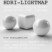 HDRI studio basic 010