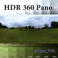 HDR 360 Pano Rio grass park01