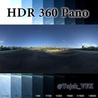 HDR 360 Pano Autdromo Jos Carlos Pace Interlagos sunrise04