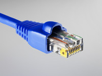 ethernet connector 3d obj