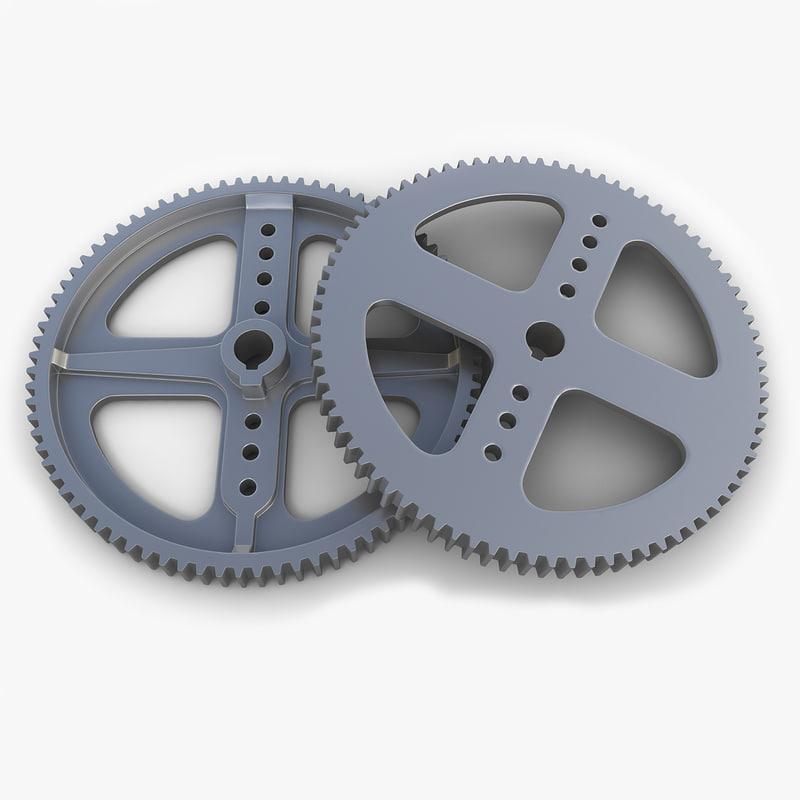 gear 17 3d model