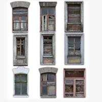 Windows Derelict Set (with Normals)
