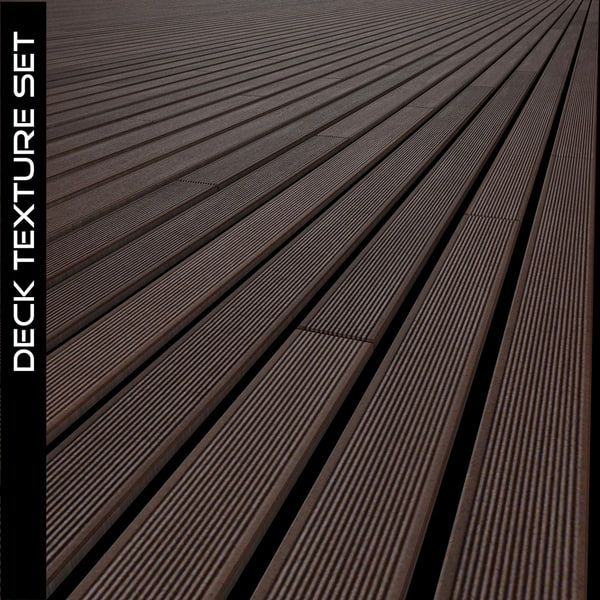 Wood Deck Texture Set