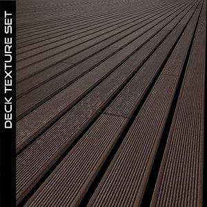 Wood Deck Texture Set