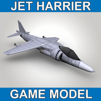 Jet Harrier - game model