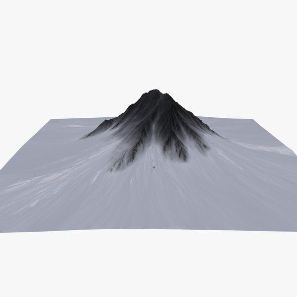 3d terrain model