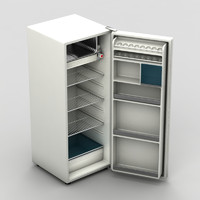 old refrigerator 3d 3ds